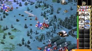 прохождение Red Alert 2 миссия 11(Кремль падет!)
