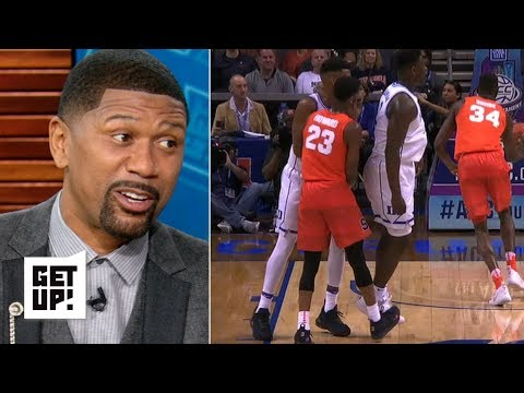 Let's not act like Syracuse's Howard didn't try to trip Zion Williamson – Jalen Rose | Get Up!
