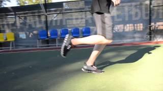 Урок №1 Бег, Ведение мяча, Прыжки в длину