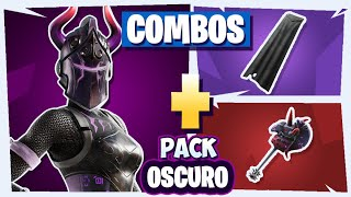 🌈 THE BEST *COMBOS* TRYHARDS OF the *PACK* DARK REFLEXION LAWS in Fortnite 😈