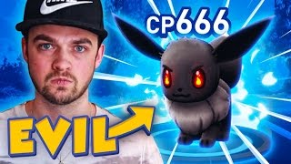 Pokemon GO - THE ULTIMATE RAGE!!! (Devil Eevee)