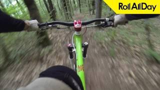 Как ездить даунхилл на дешевых тормозах [Roll All Day FAQ Bike](Статья о правильной посадке (правильная посадка = эффективное торможение) - https://goo.gl/nR47Od • Приложение..., 2016-10-03T13:03:24.000Z)