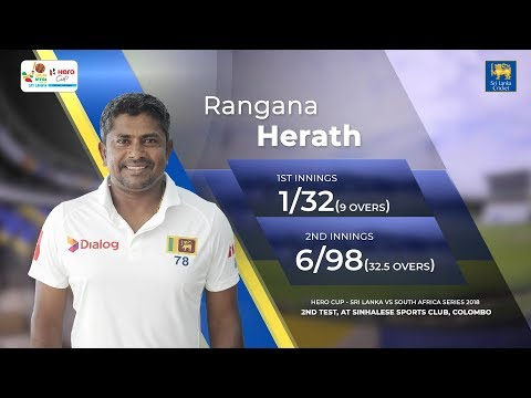 Rangana Herath 7 wickets vs South Africa