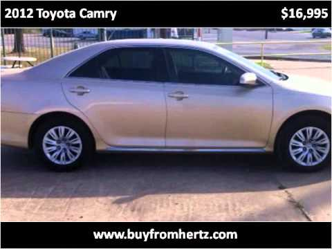 2012 Toyota Camry Used Cars Fort Smith AR