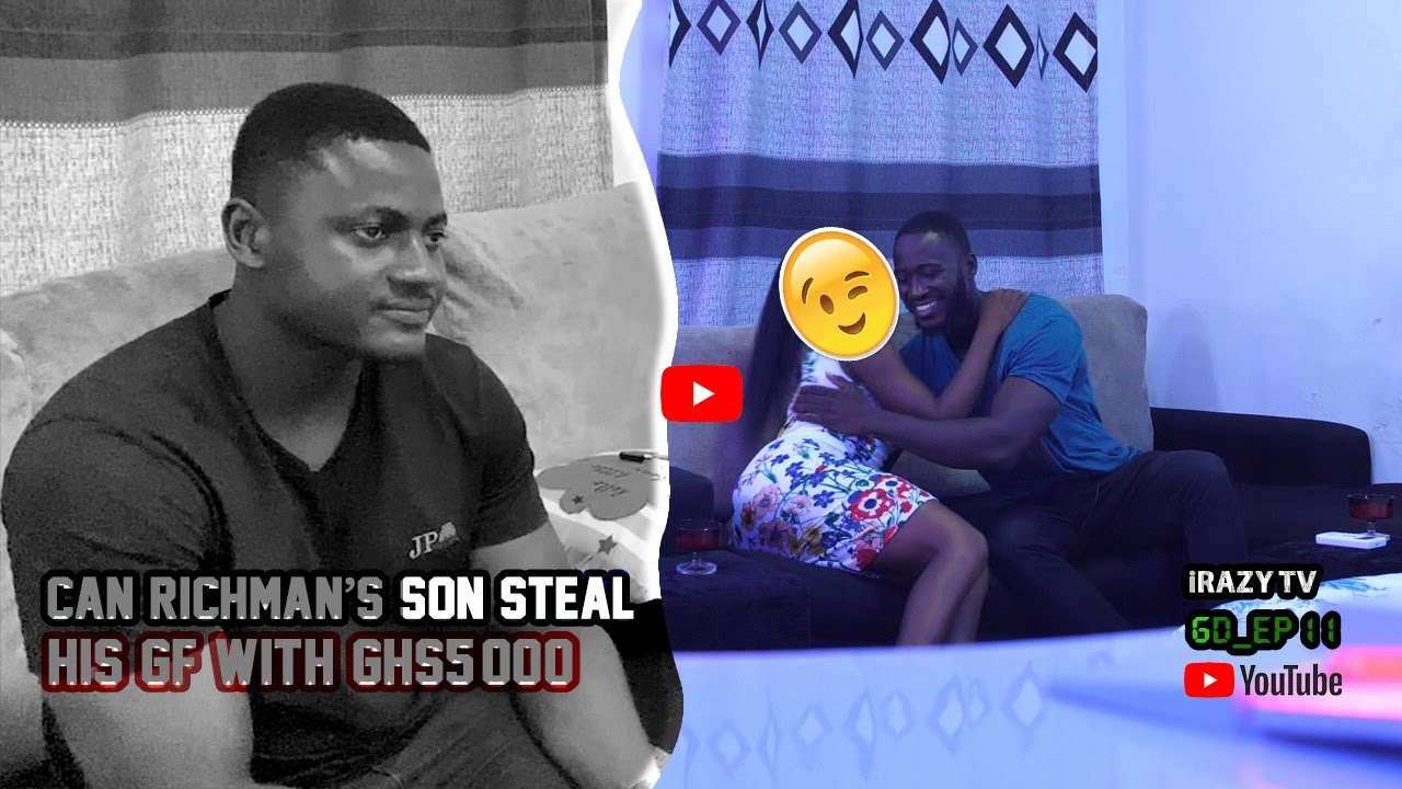 Can The Rich Man's Son Steal His Girlfriend with GHS 5000 #Gold_Digger_Test_Ghana