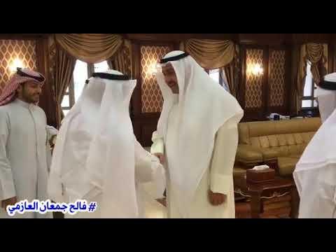 استقبل محافظ الفروانية بمكتبة الرحال #الكويتي #فالح_جمعان_العازمي