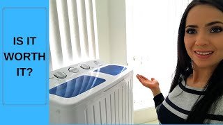 PORTABLE WASHING MACHINE ( is it the best SOLUTION?!) 2019
