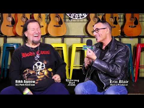 Rikk Agnew & Eric Blair part 3 Joan Jet ,The Go-Go's ,Darby Crash,& Cuckoo's Nest etc