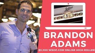 Brandon Adams Wins Online High Roller for $411,560