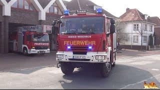 [Löschzug Feuerwehr Cuxhaven] HLF 20/16, DLK 23/12 BF + OrgL RD + LF 16/12 FF Cuxhaven-Mitte