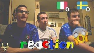 Italia 0-0 Svezia | Fuori Dai Mondiali ● LIVE REACTION TIFOSI ITALIANI