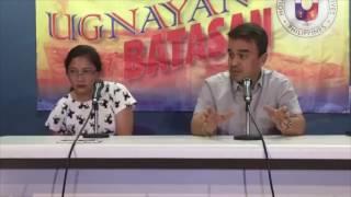 Reps Ace Barbers and Arlene Brosas on barangay elections, Alvarez-Floirendo spat