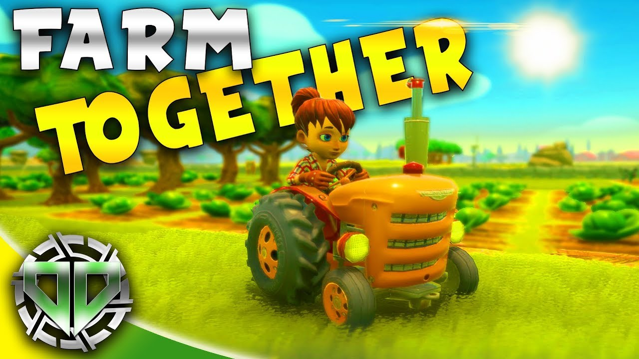 Farm Together First Look New Co Op Multiplayer Farming Game Farm Together Gameplay Youtube