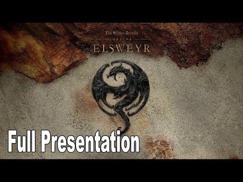 The Elder Scrolls Online: Elsweyr - Full Presentation [HD 1080P]