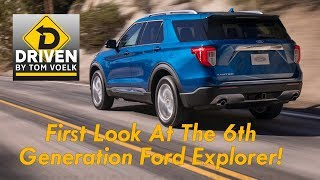 First Look! 2020 Ford Explorer Unveil at Ford Field