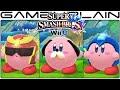 Smash Bros Wii U: All Kirby Hats & Transformations