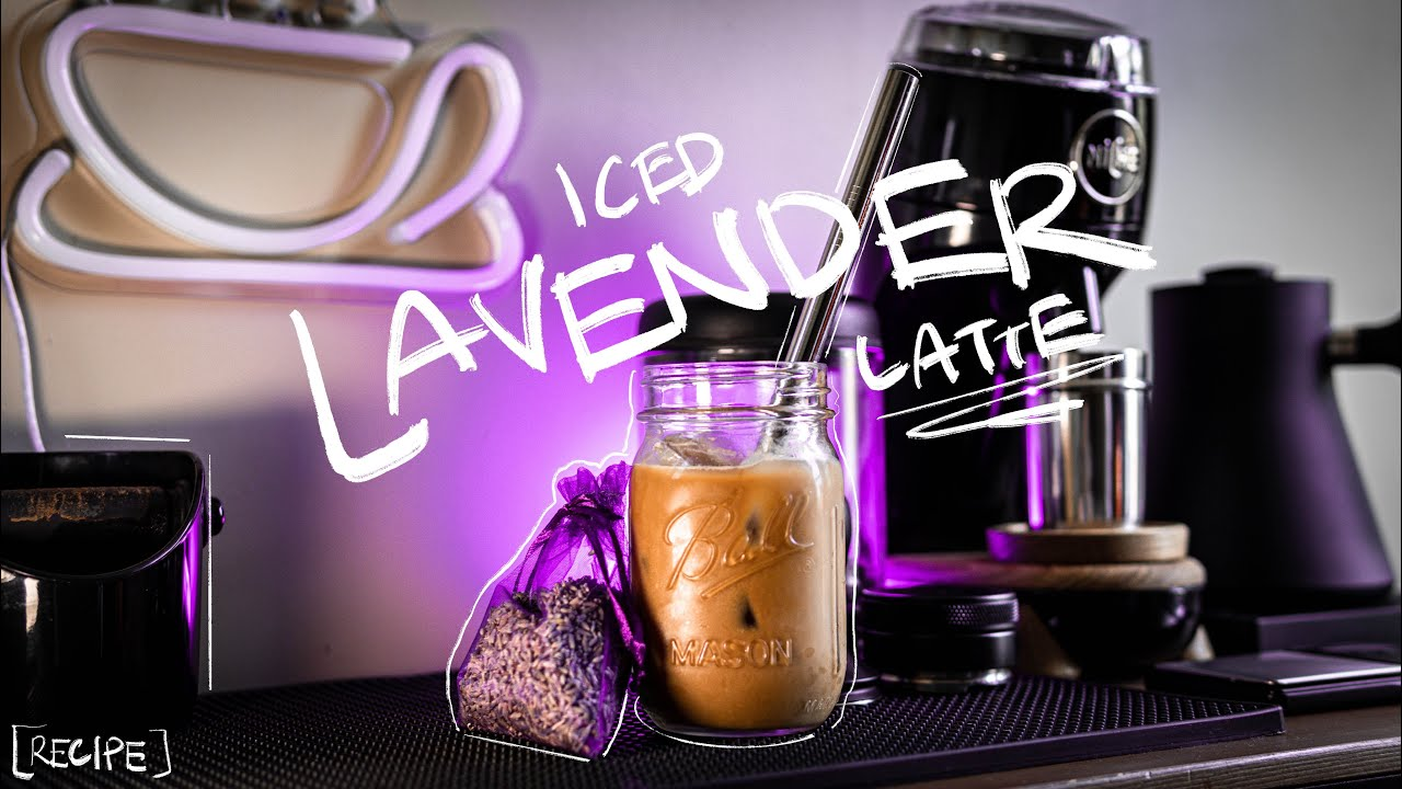 Iced Lavender Latte [RECIPE]