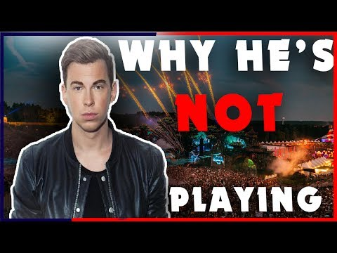 HARDWELL GOT BANNED from Tomorrowland ( **PROOF **)