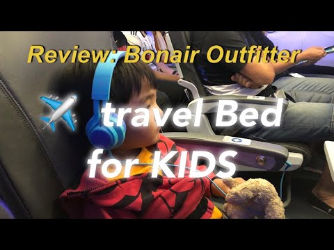 REVIEW: Kids Airplane Bed To Sleep - BONAIR OUTFITTERS