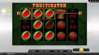 Fruitinator - Merkur Automat - sunmaker
