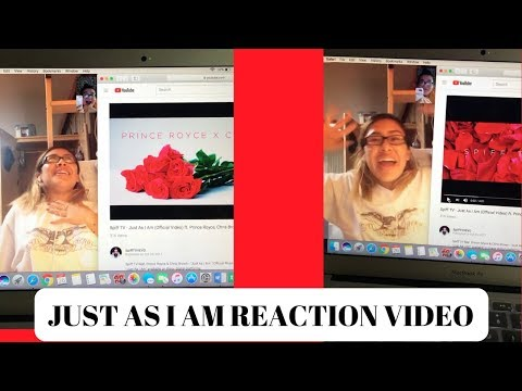 JUST AS I AM - SPIFF TV FT CHRIS BROWN & PRINCE ROYCE (REACTION VIDEO)