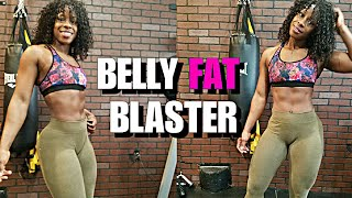 10 Mins  Belly Fat Blaster with Medicine Ball