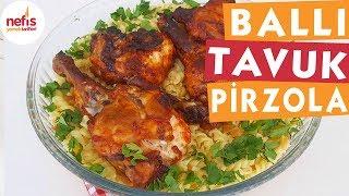 Ballı Tavuk Pirzola - Tavuk Yemekleri - Nefis Yemek Tarifleri