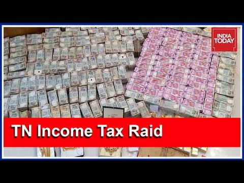 Massive Income Tax Raids Continue For Day 2 In Tamil Nadu: Rs 160 Cr Cash, 105 Kg Gold Seized
