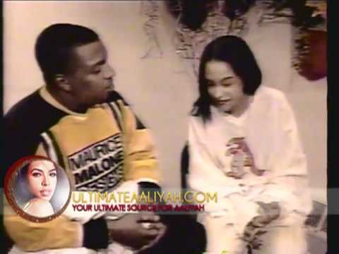 (RARE) 'AALIYAH Interview At Her 16th Birthday Party ★★�