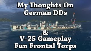 wows v 25 thoughts on german dds