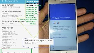 Bypass Google Account Samsung Galaxy J7 Prime, J5 Prime And All Other's