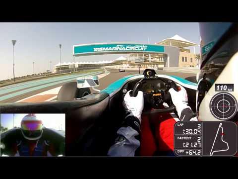 My Formula 3000 Experience - Yas Marina