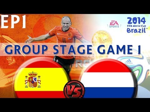 [TTB] 2014 FIFA World Cup Brazil - Spain Vs Netherlands - Group Stage Game 1 - Ep1