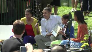 Obama s dramatic Where the Wild Things Are reading