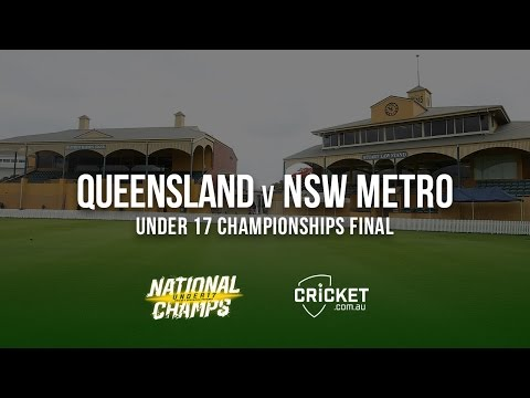Under 17 Championships Final: Queensland v NSW Metro