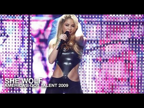 Shakira ~ She Wolf (America's Got Talent 2009) [HDTV]