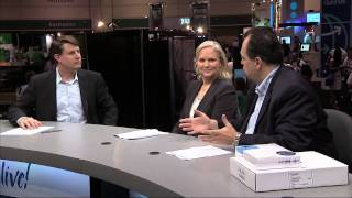 Plantronics Cisco Live Marilyn Mersereau and Roberto De La Mora Interview
