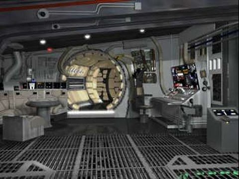 Build the millennium falcon customisation floors flaws for Interieur faucon millenium