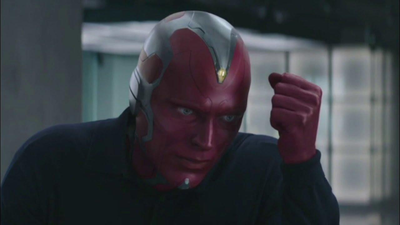 Captain America Civil War Clip Quot Vision And Scarlet
