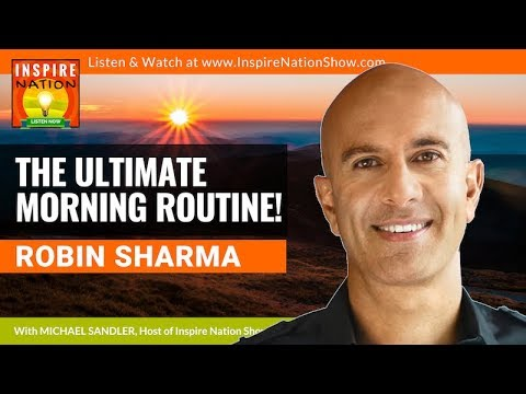 🌟ROBIN SHARMA: The Ultimate Morning Routine To Revolutionize Your Life! The 5AM Club