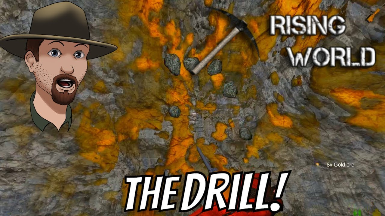 Mining Drill Sulfur And Gold Repeater Rising World Survival 13