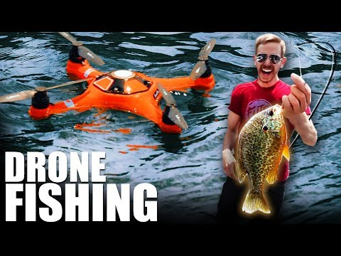 SPLASH DRONE FISHING | Flite Test