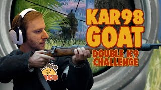 chocoTaco is THE K9 GOAT: A Kar98 Challenge - PUBG Gameplay