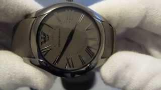 обзор мужских наручных часов emporio armani slim ar2057