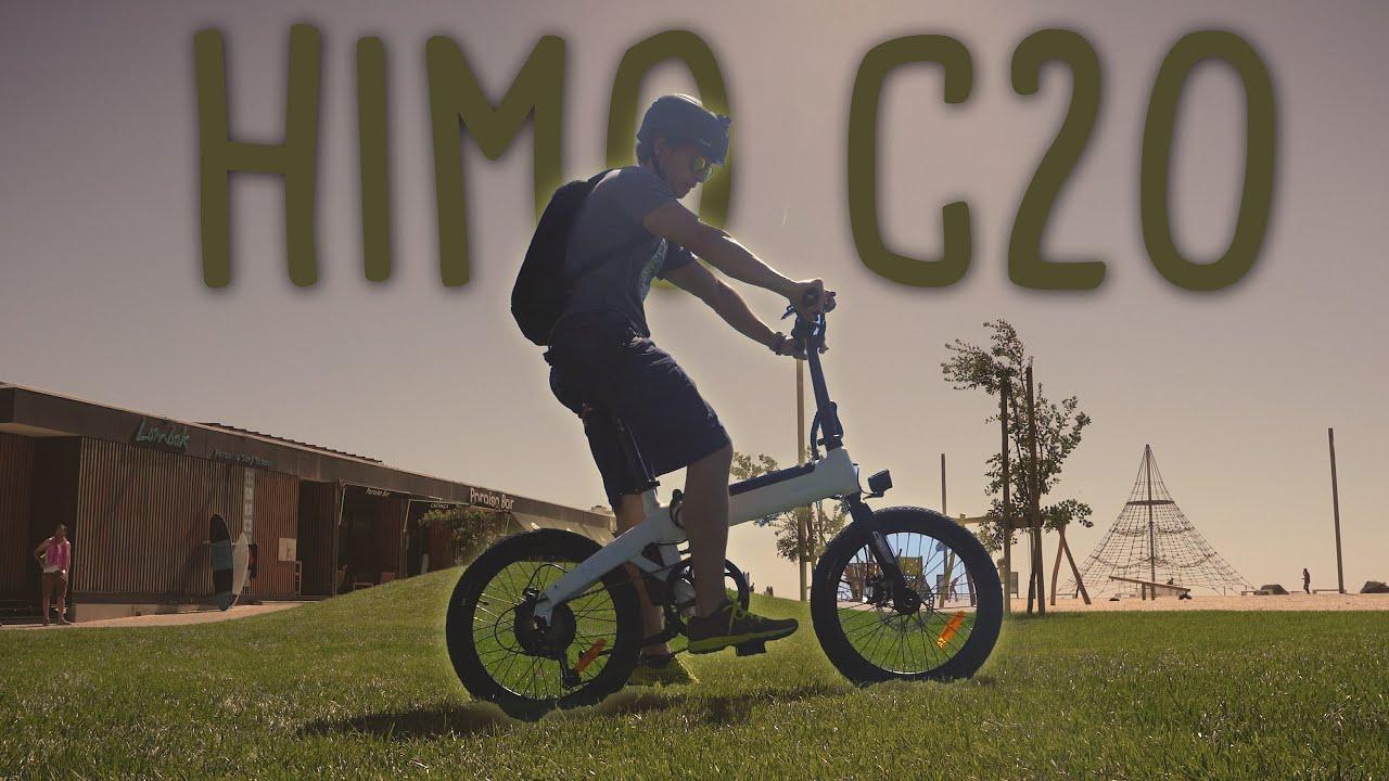Bicicleta Xiaomi Himo C20 , 80km reais? teste em modo high eléctrico