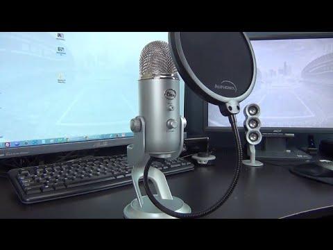 Blue Yeti Amp Auphonix Blue Yeti Pop Filter Unboxing Youtube