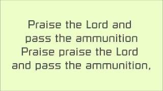 Praise The Lord And Pass The Ammunition - Serj Tankian lyrics