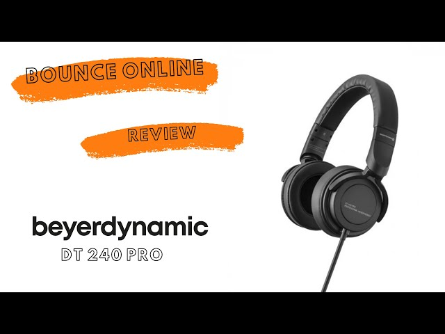 Beyerdynamic DT240 pro Headphones #beyerdynamic #headphones #review