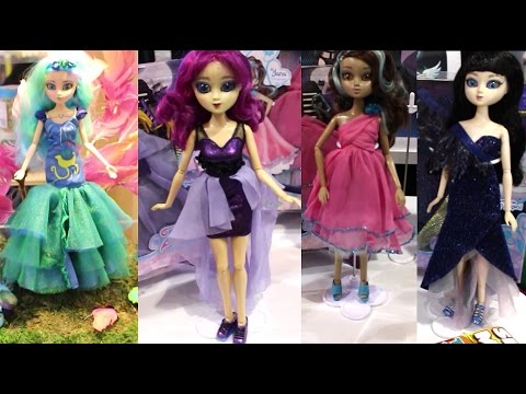 2016 New York Toy Fair Zeenie Dolls Booth Tour Eco Friendly Fashion Doll Collection Video
