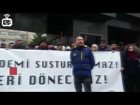 Marmara Üniversitesinde faşist saldırı